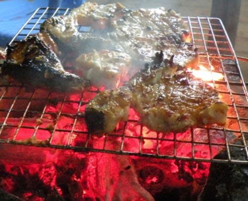 cá bẻo nướng